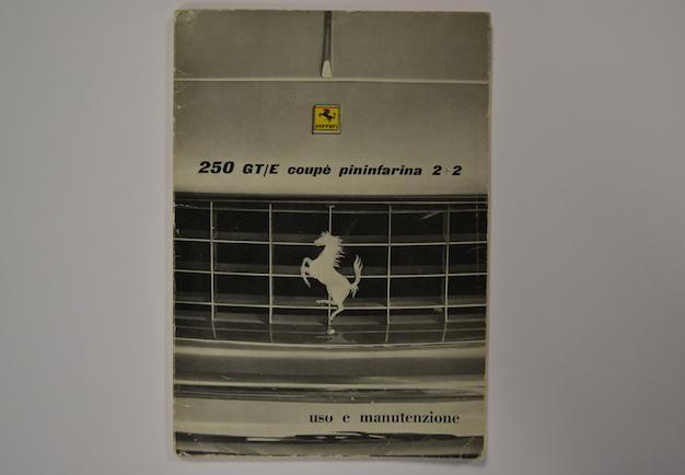 Ferrari 250 GT/E Coupe Pininfarina Handbook Front Cover