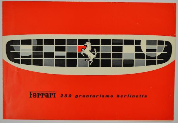 Ferrari 250 GT Berlinetta Brochure Front Cover