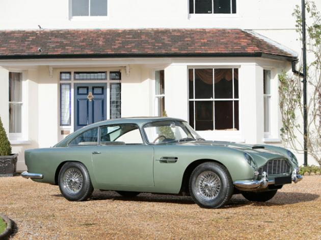 Classic Aston Martin Car